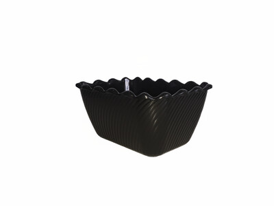 Scallop Bowl Small Black