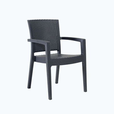 Anthracite Paris Armchair
