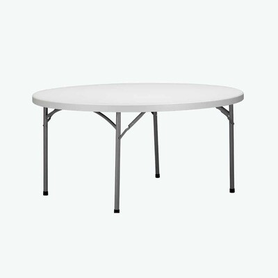 Duratable Trestle Table - Round