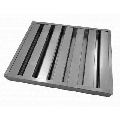 Aluminium Baffle Filter - 495mm X 495mm X 45mm