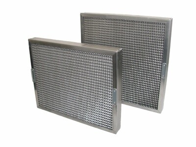 Stainless Steel Honeycomb Filter - 395mm X 495mm X 50mm