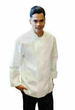 Chefworks Murray White Basic Chef Jacket