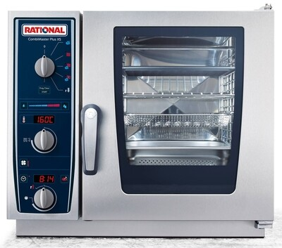 RATIONAL CMP-XS-623 CombiMaster Plus – 6 x 2/3 GN Tray Electric