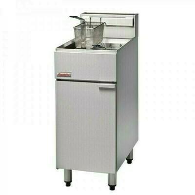 FastFri FF18 - 400mm Gas Deep Fryer Single Pan
