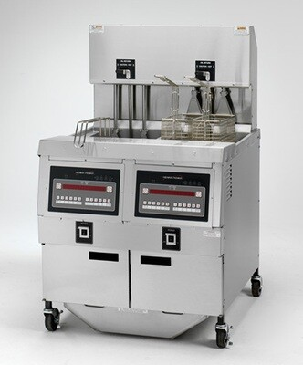 Henny Penny Open Fryer Electric Double Well 1000 Computron - OFE 322