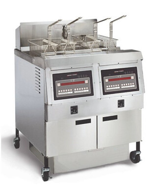 Henny Penny Two Well Natural Gas Open Fryer - OFG 322