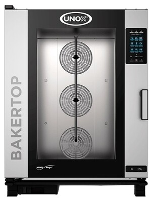 Unox BakerTop MIND.Maps PLUS 10 Tray Electric Combi Oven
