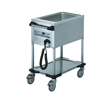 Rieber ZUB1 - 1 x 1/1 GN Delivery Trolley