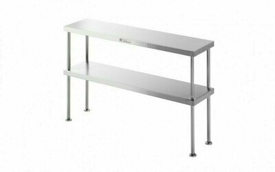 Simply Stainless SS13.1500 - Double Bench Over Shelf
