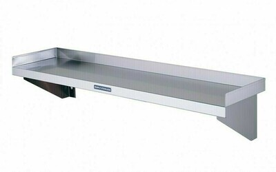 Simply Stainless SS10.0600 - Solid Wall Shelf