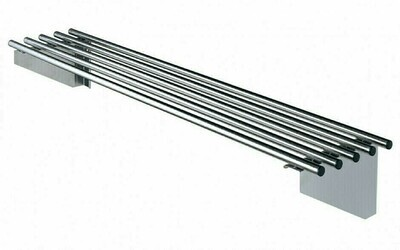 Simply Stainless SS11.0600 - Pipe Wall Shelf
