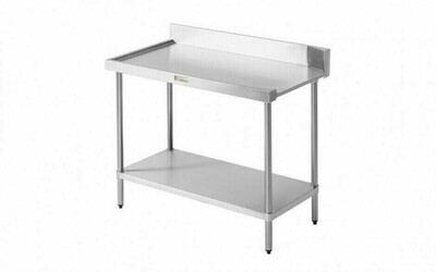Simply Stainless SS07.1200.R - Dishwasher Outlet Bench