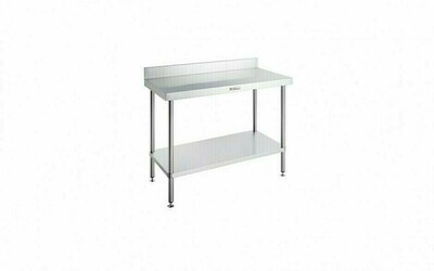 Simply Stainless SS02.7.0900 Work Bench with Splashback