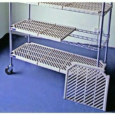 Atlas 4 Shelf Plastic Mat Shelving Kit 535D x 1065Lmm