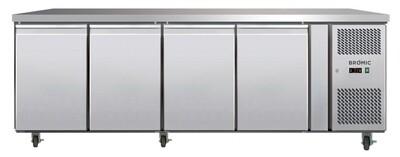 Bromic 4 Door Underbench Storage Freezer 553L LED