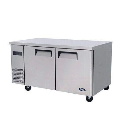 Undercounter 2 Door Refrigerator 1500mm - 300L