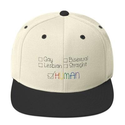 Human Snapback Hat