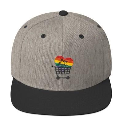 For Sale Snapback Hat