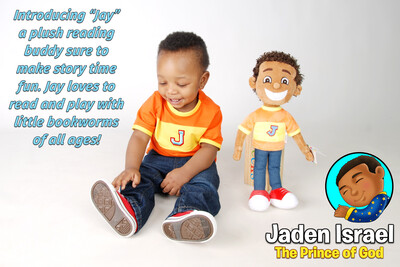 Jaden Israel Plushie