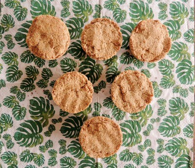 Mini haverbroodjes (choclade) - 6 stuks