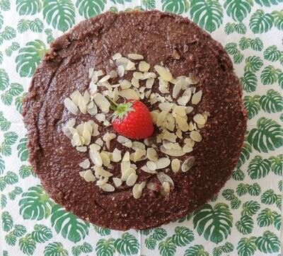 Pindakaas Cheesecake  (8-10pers)
