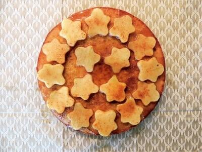 Amandeltaart met appeltjes - (2tot5pers)