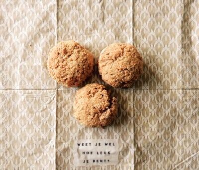 Mini haverbroodjes - 7 stuks