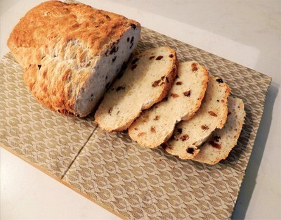Wit rozijnenbrood - 570g