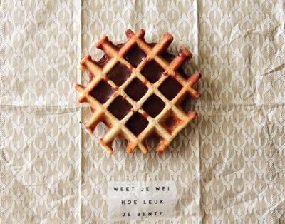 Glutenvrije chocolade wafels - 8stuks