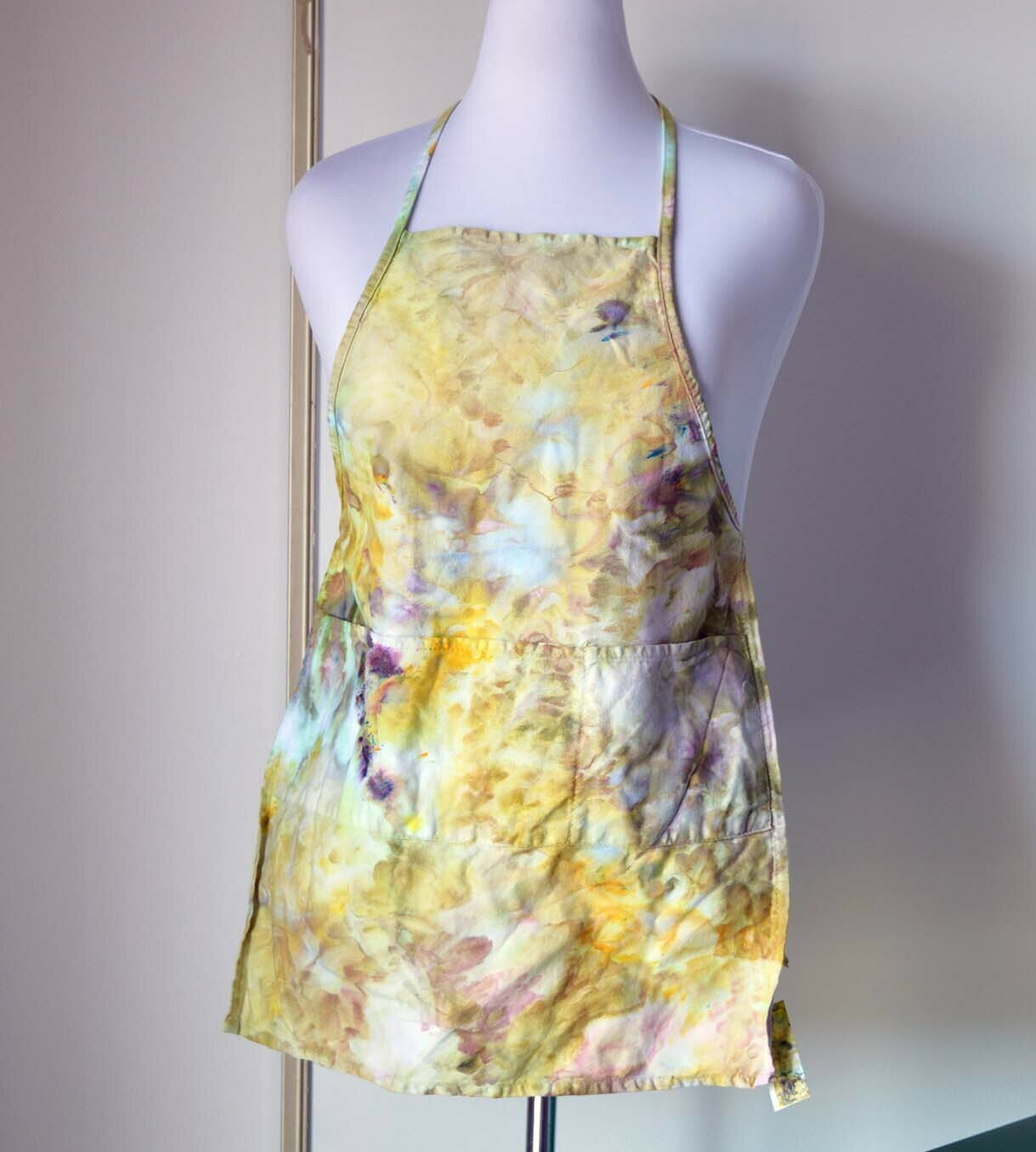 Kids to XS Adult size ice dyed apron
