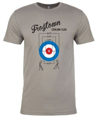 Social Distance Curling T-Shirt