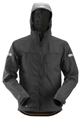 Snickers 1229 AllroundWork Soft Shell Jack met capuchon