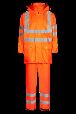 Lyngsoe Rainwear Hi-Vis jas en broek