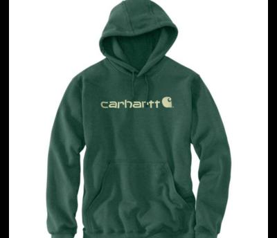 Carhartt 100074 Signature logo Hoodie