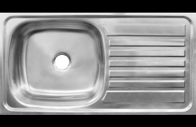 Sink 750 x 400 drop in single bowl