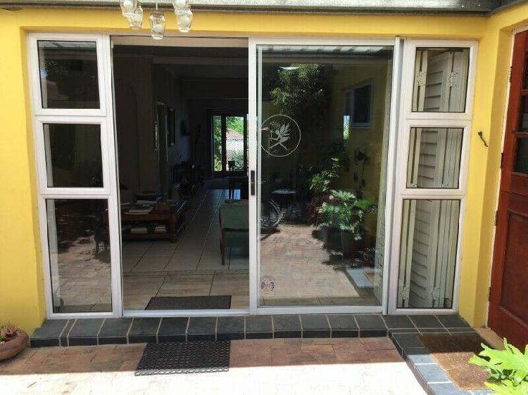 Sliding / Patio door door Combo with double sidelight