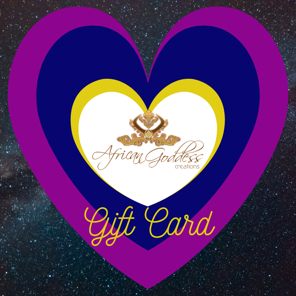 African Goddess Creations Gift Card