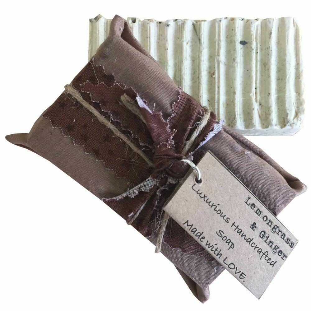 Lemongrass & Ginger - Handcrafted Vegan Soap