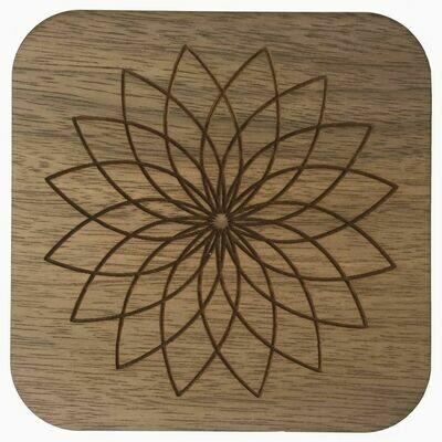 Boho Wall Plaque - Lotus