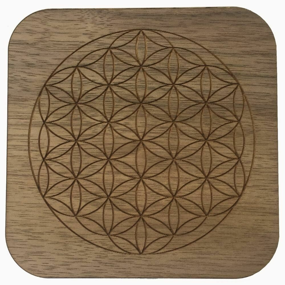 Boho Wall Plaque - Flower Of Life