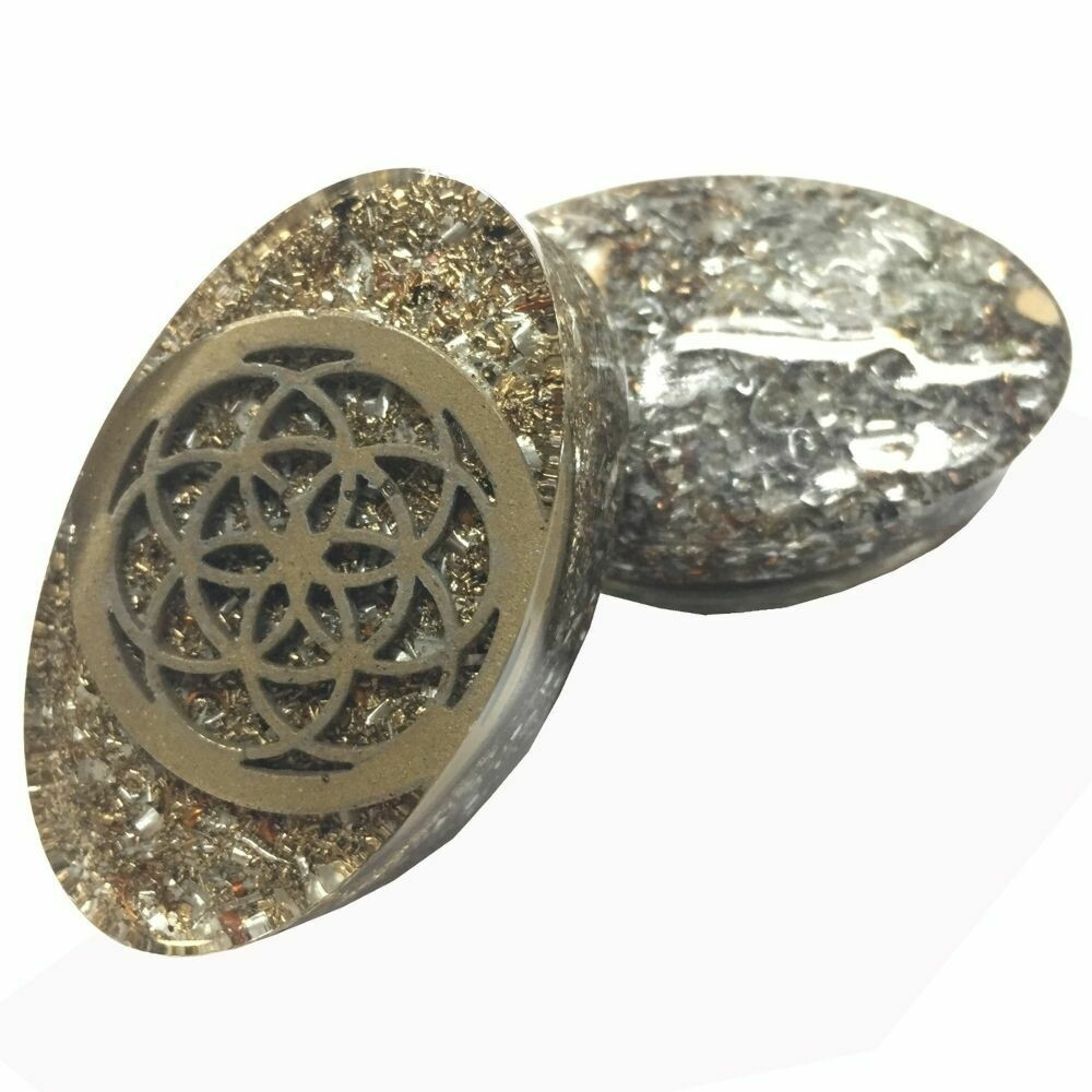 Orgonite Tower Buster Mini  - Seed Of Life Orgonite Inclusion