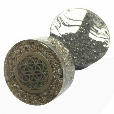 Orgonite Tower Buster Large - Seed Of Life Orgonite Inclusion