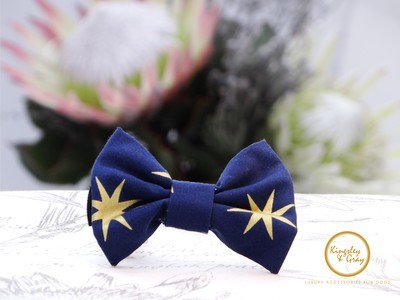 SHINING STAR DOG BOW TIE