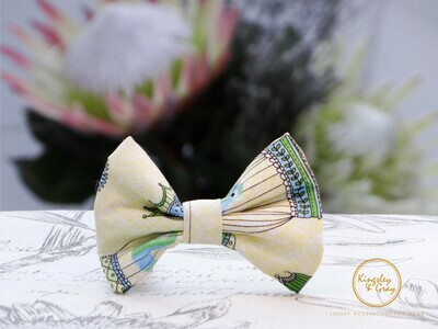 THE BIRDCAGE DOG BOW TIE