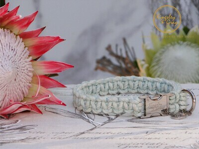 MACRAME DOG COLLAR (AZTEC)