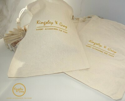 KINGSLEY & GRAY COTTON DUST BAGS
