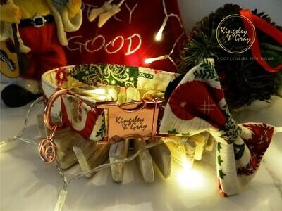 OH CHRISTMAS TREE DOG COLLAR
