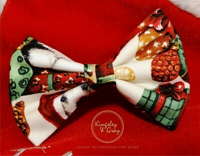 SANTA'S HELPERS DOG BOW TIE