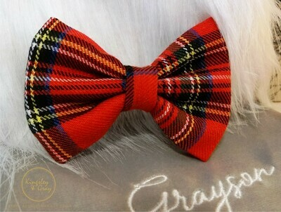 THE HIGHLANDER DOG BOW TIE