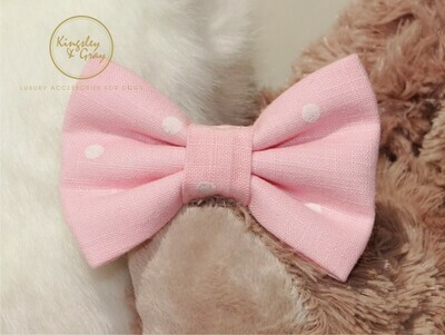 BAILEY ROSE DOG BOW TIE
